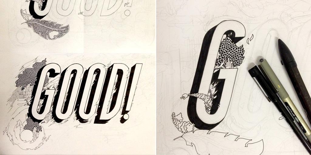 good-things-illutration-in-progress-mockup